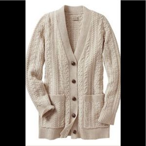 Brand new Duluth Trading Cardigan